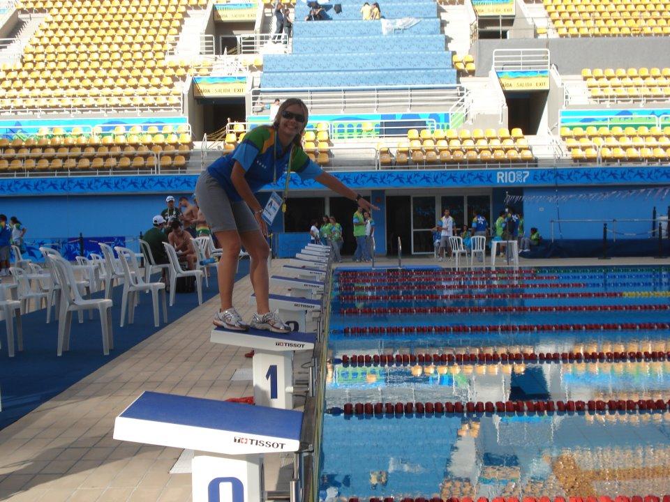 Árbitra cearense de natação é convocada para as Olimpíadas do Rio
