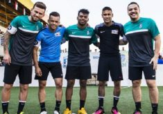 Tá com moral: Safadão no mesmo time de Neymar e Lucas Lima (FOTO: Samo Vidic/Red Bull Content Pool/Divulgação)