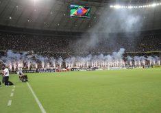 Foram 56.400 pessoa na Arena Castelão (FOTO: Reprodução/Facebook)