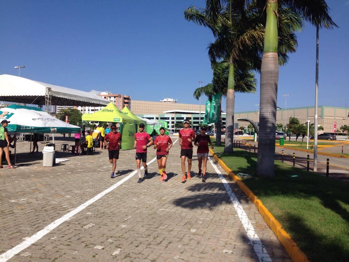 Nova pista de corrida no shopping Iguatemi muda a rotina de atletas