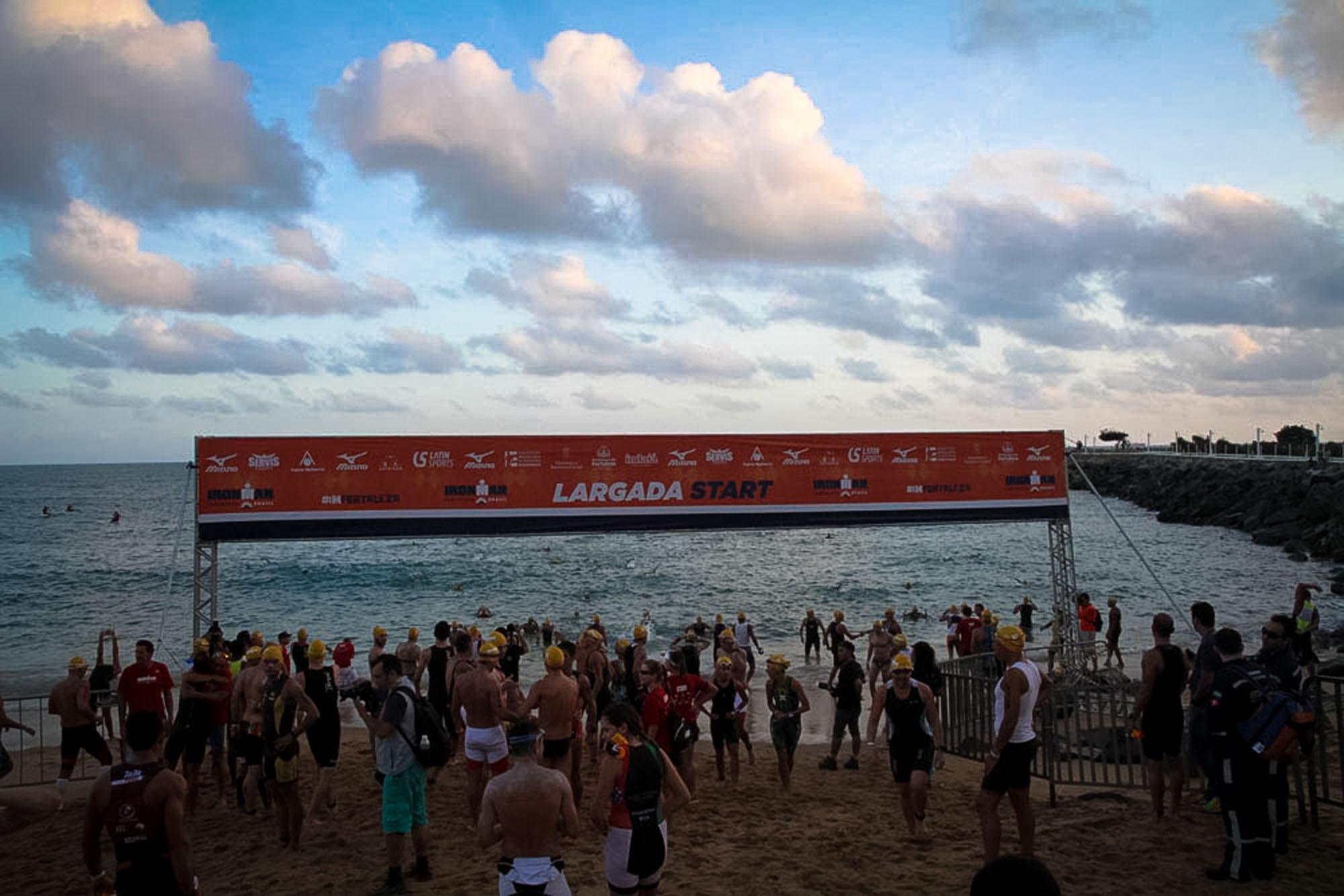 Ironman Fortaleza dá a largada com exposição sobre a prova mais desgastante do mundo