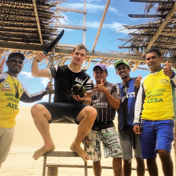 Fortaleza é palco para campeão mundial de futebol freestyle