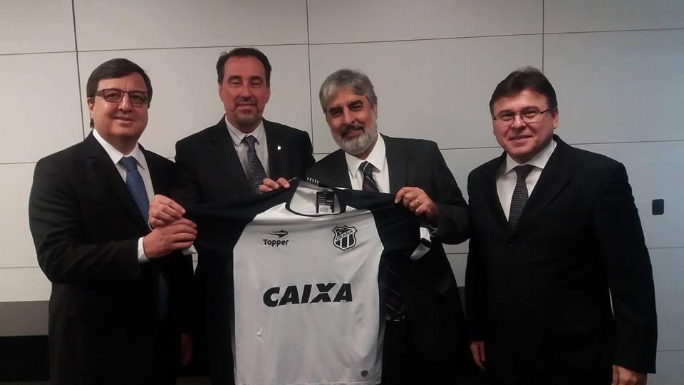 Ceará acerta patrocínio com a Caixa para 2017
