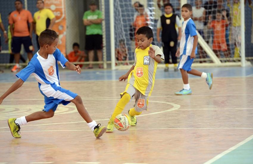 Sesc abre 125 vagas para projeto social de futsal