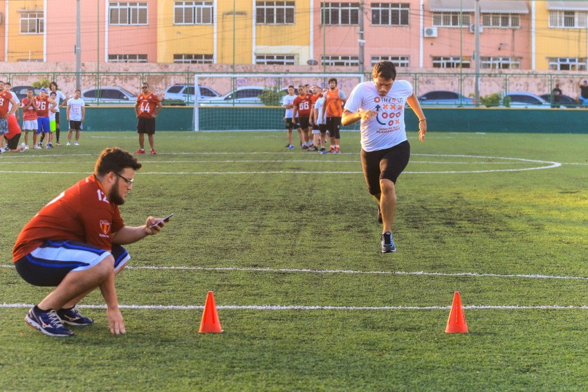 Roma Gladiadores promove seletiva de novos talentos em Fortaleza