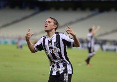O Ceará se saiu melhor no 1º jogo da decisão cearense (FOTO: Christian Alekson/Cearasc.com)