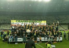 O Ceará é campeão cearense 2017 (FOTO: Rodrigo Cavalcante/Esporte Mais)