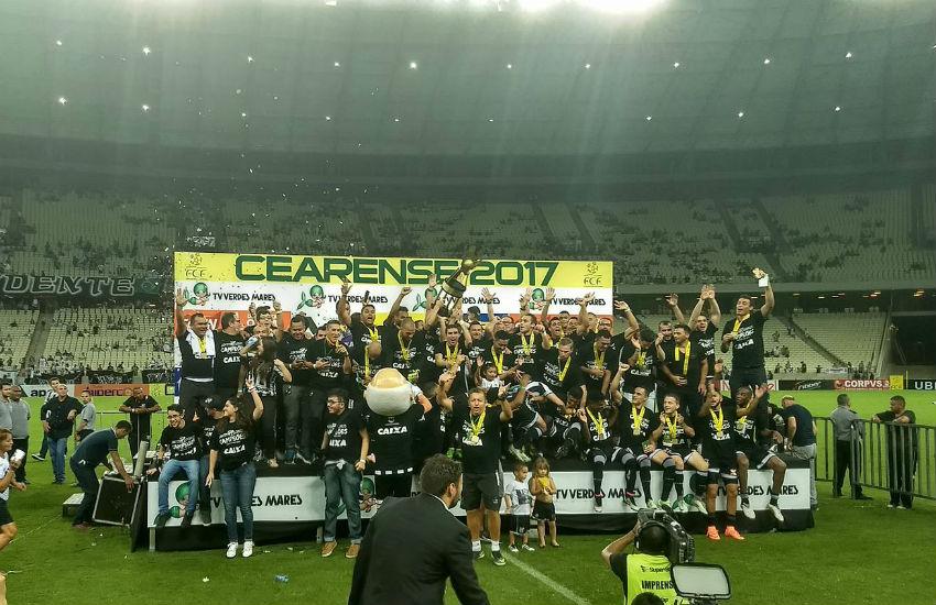 Ceará vence Ferroviário e é campeão cearense de 2017