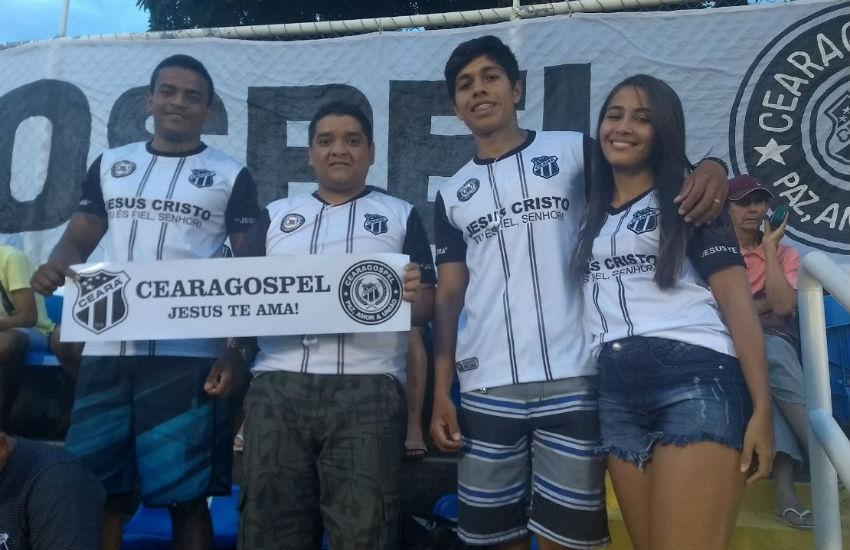 Torcida do Vovô não fala palavrões e nem bebe álcool: conheça a Ceará Gospel