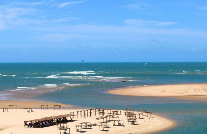 Expedição de kitesurfe percorrerá 75 praias cearenses em 5 dias de aventura