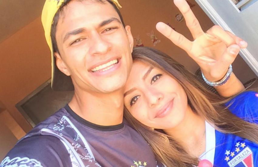 Membro de organizada do Ceará e líder de torcida do Fortaleza provam que o amor supera rivalidade