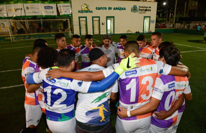 Inscrições abertas para a Coparena 2017, maior competição de futebolentre bairros de Fortaleza