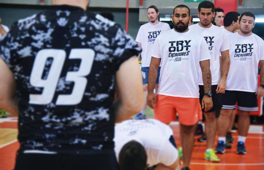 Ceará Caçadores realiza seletiva de novos atletas em shopping de Fortaleza