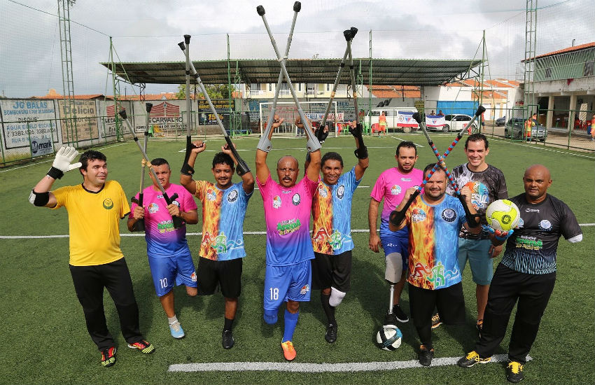 Maracanaú recebe 2ª Copa do Nordeste de Futebol de Amputados