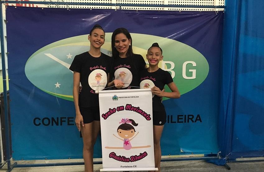 Aluna de escola pública se classifica para o Torneio Nacional de Ginástica Rítmica