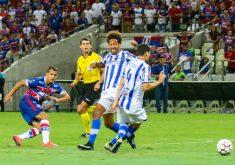 O Leão foi derrotado na primeira partida e empatou no segundo jogo (FOTO: Reprodução/Facebook Fortaleza EC)