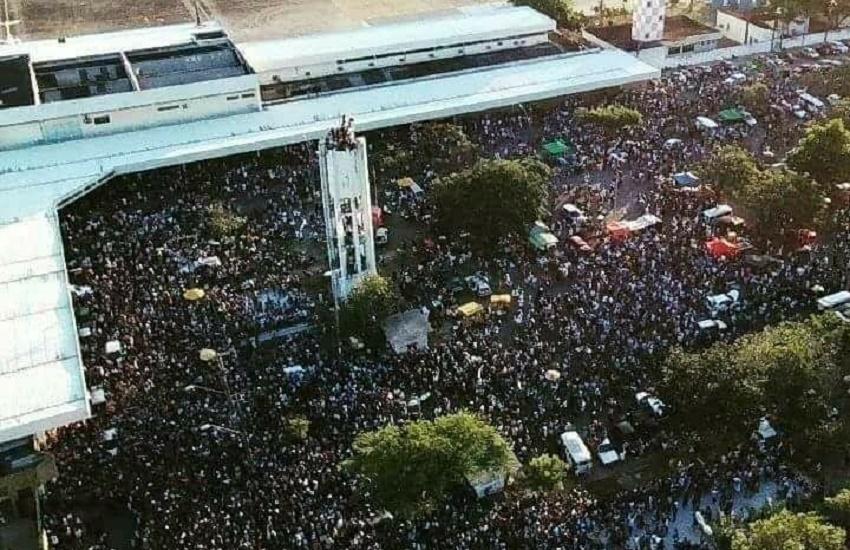 Ceará estima que 100 mil pessoas recepcionaram o time; PM não divulga público