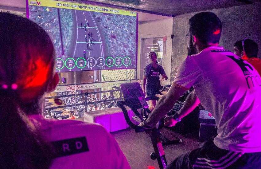 Pedal virtual é mais uma opção de atividade física em Fortaleza