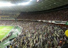 44 mil pagantes lotaram o Castelão nesta terça-feira (FOTO: Lyvia Rocha/Tribuna do Ceará)