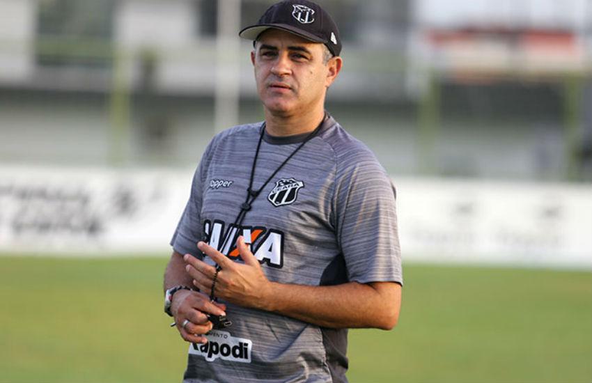 Chamusca alerta que o Ceará precisará se reforçar para estar no nível da Série A