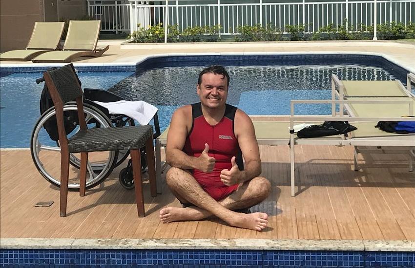 Triatleta que ficou paraplégico durante treino se prepara para retornar ao Ironman