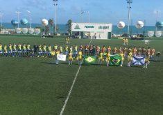 A final da Coparena aconteceu na Areninha Pirambu (FOTO: Reprodução/Instagram)