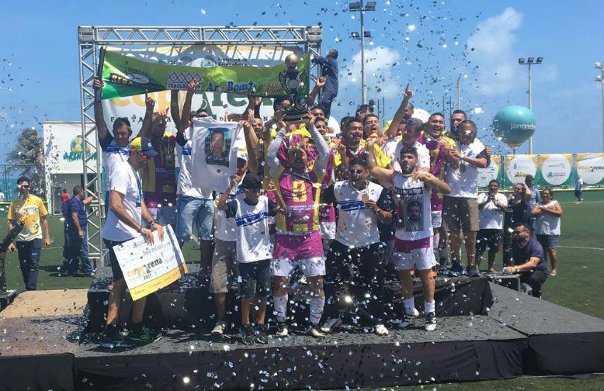 Maria Clara é o time campeão da categoria masculina da Coparena Fortaleza