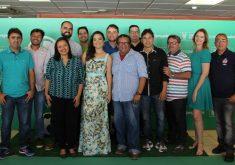 A equipe esportiva que integrará o Futebolês (FOTO: Divulgação)