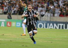 O jogador virou xodó da torcida em pouco tempo (FOTO: Lucas Moraes/Cearasc.com)