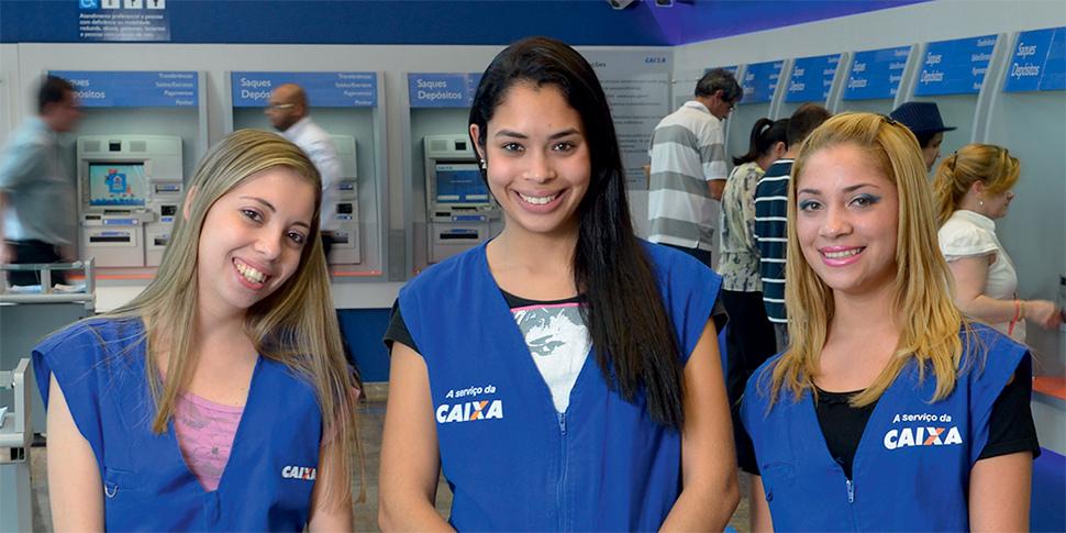 Os estagiários de nível médio ou técnico da Caixa recebem bolsa auxílio no valor de R$ 500, além do auxílio transporte no valor de R$ 130 (FOTO: Divulgação)