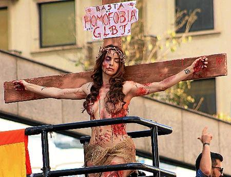 A performance da atriz foi discussão em todo o país (FOTO: Reprodução)