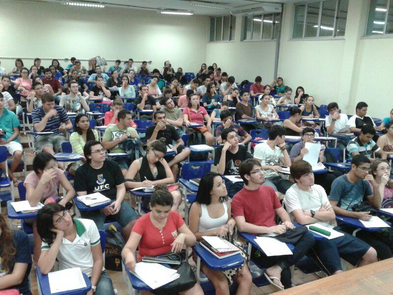 As matrículas devem ser feitas no próprio Centro de Ciências, situado no bloco 902 do Campus do Pici Prof. Prisco Bezerra (FOTO: Divulgação)