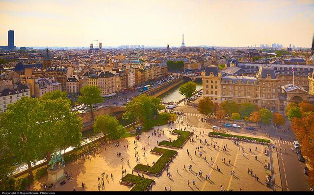estudar A França é o terceiro país mais procurado por estudantes em mobilidade universitáriafrança (FOTO: Reprodução)