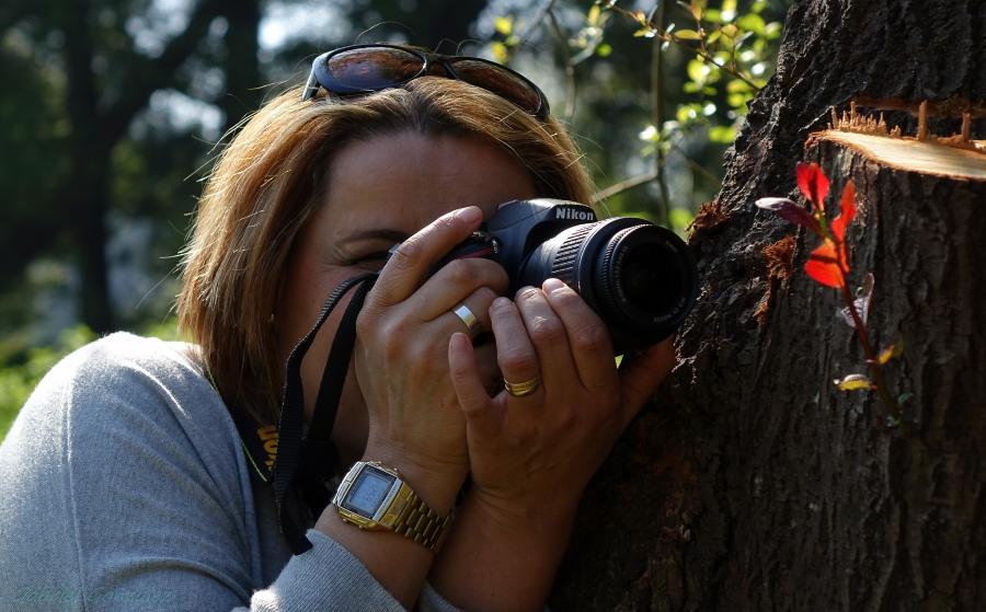 Curso de fotografia pode ser feito por pessoas com idade acima de 16 anos (FOTO: Flickr/Creative Commons/Gabriel González)