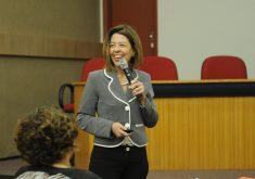Para Kelly Malheiros, o seminário é um canal de transformação (FOTO: Aarão Costa)