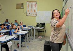 Seleção para professor substituto em Fortaleza. (Foto: Prefeitura de Fortaleza)