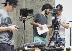 Estudantes da área do audiovisual podem participar do projeto do Porto Iracema. (Foto: Joyce S. Vidal)