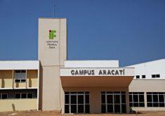 Os cursos acontecem no campus Aracati (FOTO: Divulgação)