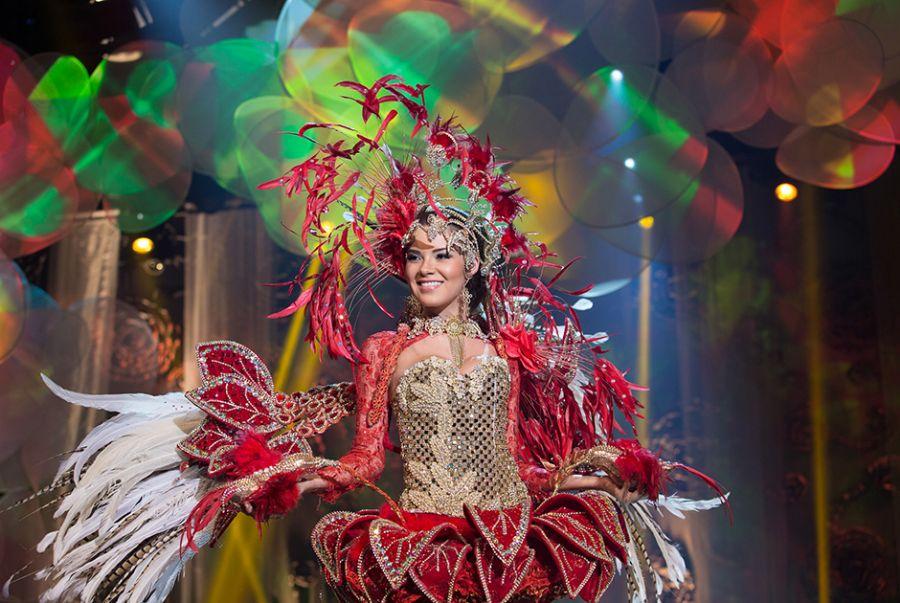 Tereza Azedo, Miss Amazonas, simbolizou a flor bela cirandeira do amazonas elaborado por Kaleb Aguiar