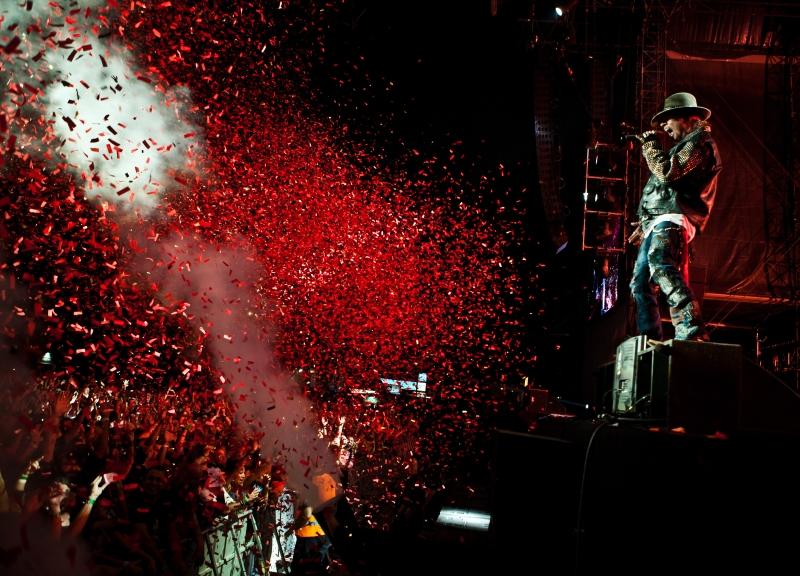 Guns N'Roses faz show no dia 17 de abril (FOTO: Divulgação)
