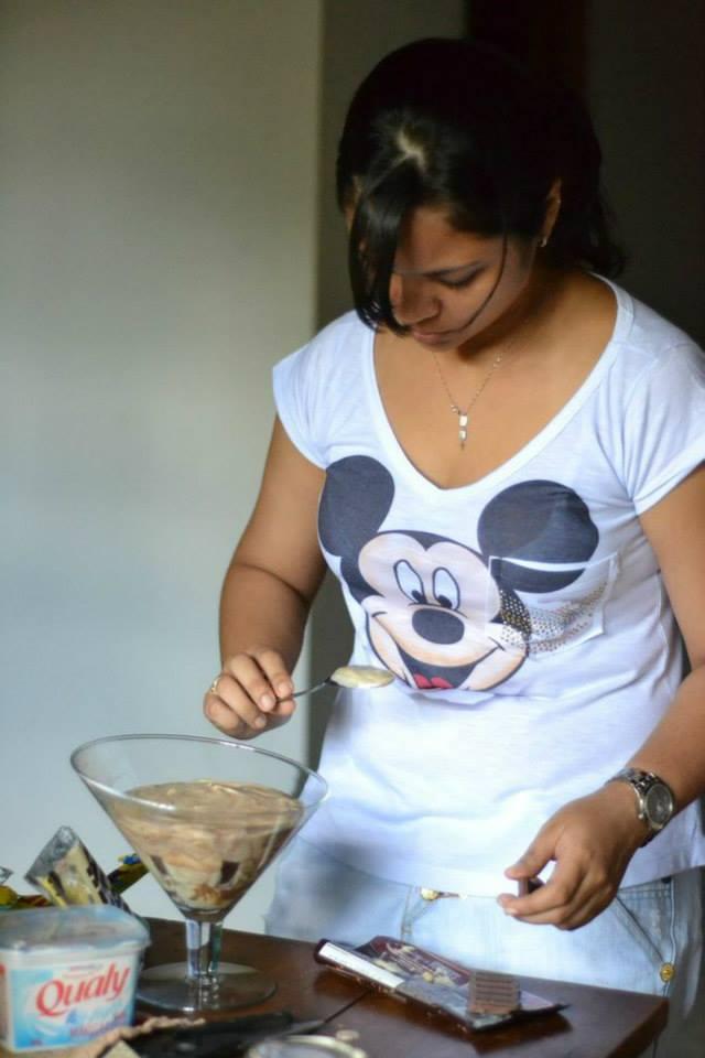 Luiza aproveita os momentos de folga para criar receitas e compartilhar no blog (FOTO: Arquivo pessoal/Luiza Lima)