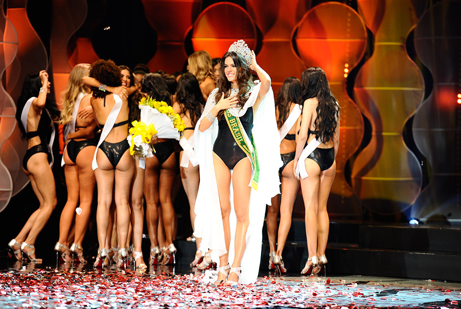 Miss Ceará Melissa Gurgel é eleita Miss Brasil (foto: Divulgação/Band)