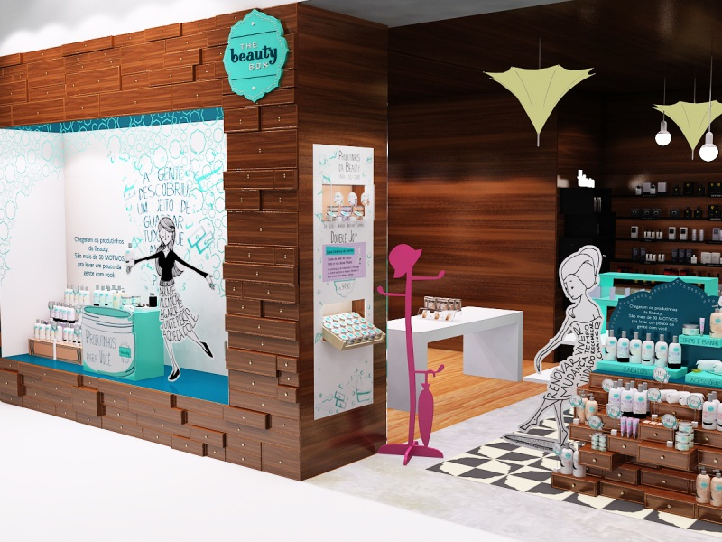 Lojas com visual merchandising