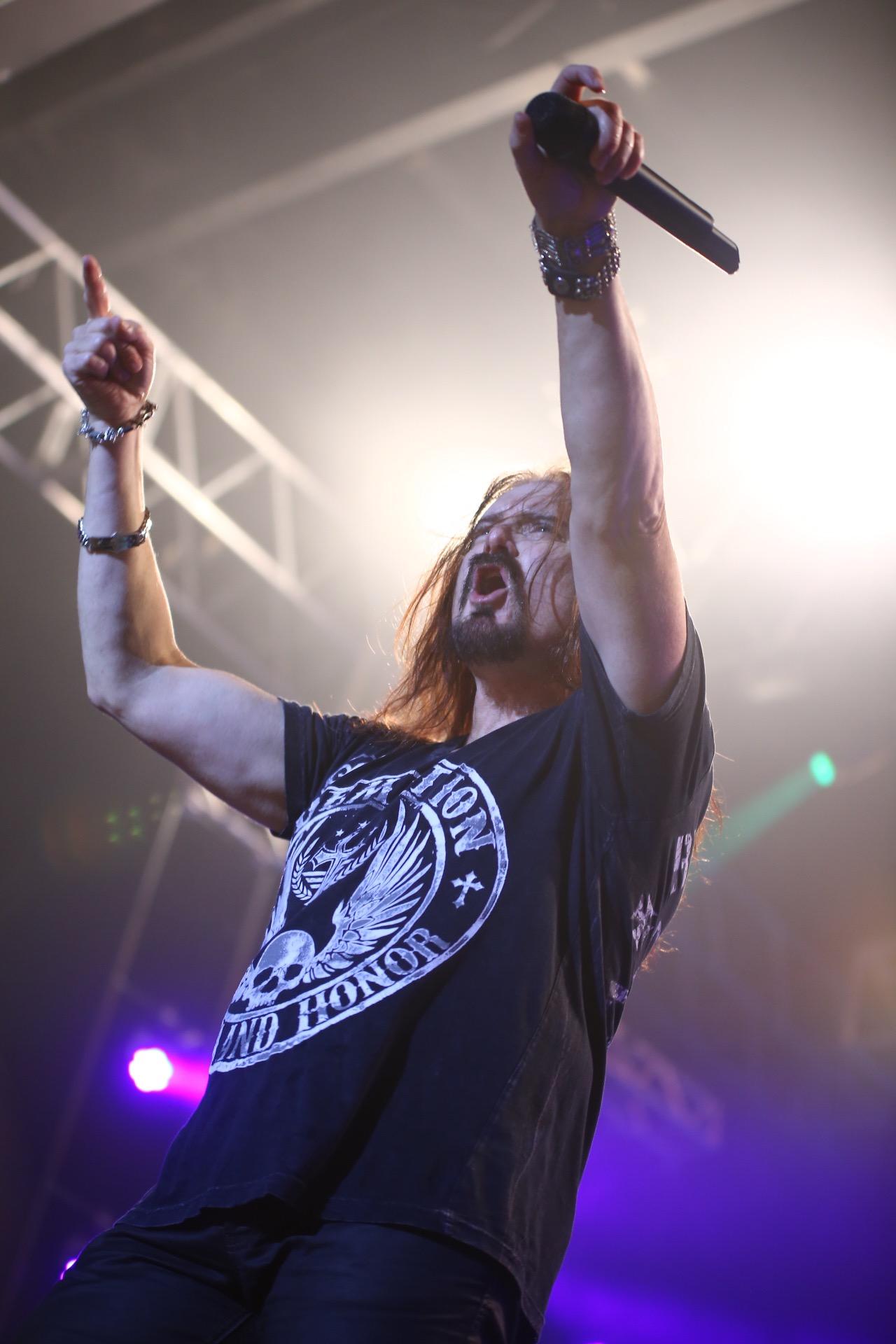 Jonh Petrucci (Guitarra), James LaBrie (Vocal), Mike Mangini (Bateria), Jonh Myung (Baixo) e Jordan Rudess (Teclado) se apresentaram durante quase três horas de puro animo e vigor (FOTO: DIVULGAÇÃO/ALANA ANDRADE)
