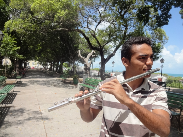 Flutebox: cearense une flauta e beatbox em criações musicais de arrepiar