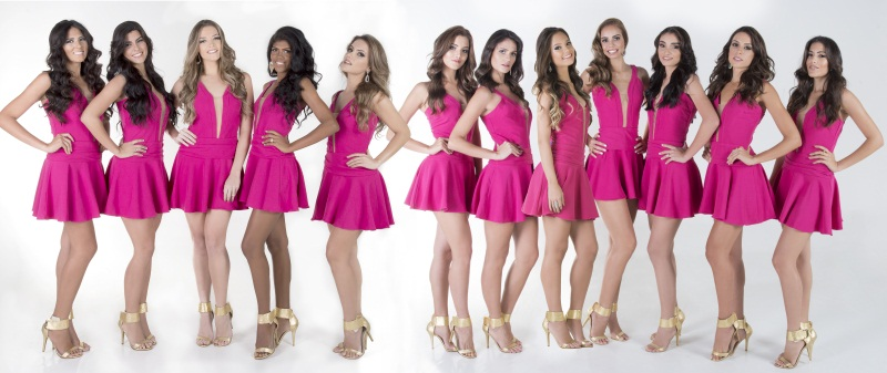 Miss Fortaleza candidatas (Foto: Divulgação)