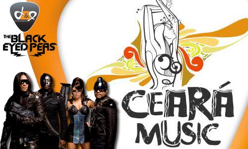 Cartaz do Ceará Music contava com atração internacional (FOTO: Divulgação)