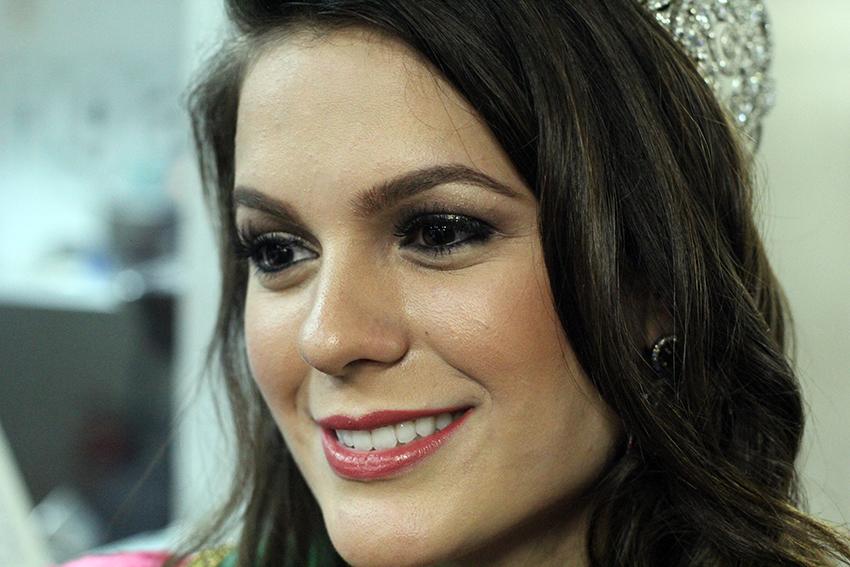 A Miss, de apenas 21 anos, quebrou o jejum de 25 anos sem títulos cearenses no Miss Brasil. (FOTO: Fernanda Moura)
