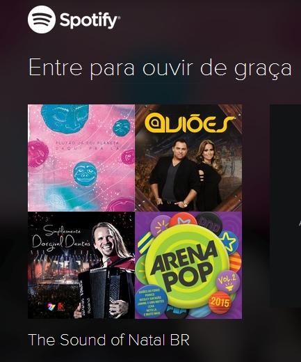 O aplicativo mostra que cantores e bandas locais são destaque em outros estados (Foto: Reprodução)