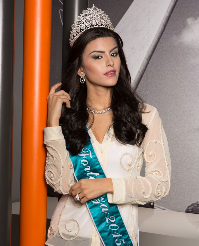Vitoria Araújo (Miss Fortaleza 2015) - Coroa LaVie Jóias